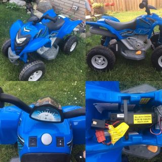 Kids Blue Ride-On ATV