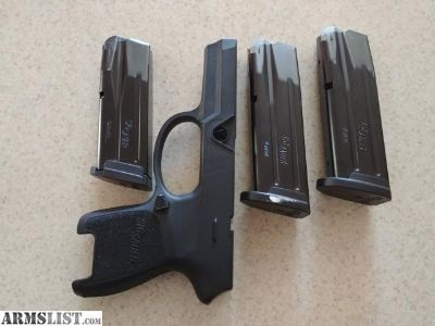 For Sale/Trade: Sig Sauer P320 Magazines and grip module