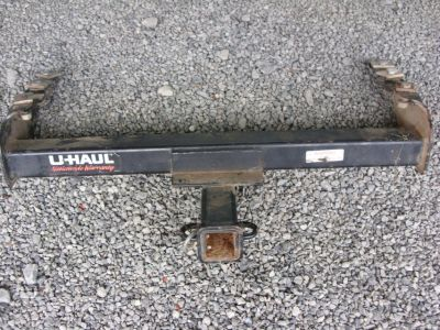 trailer hitch & toolbox