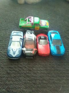 Toy cars - group 1