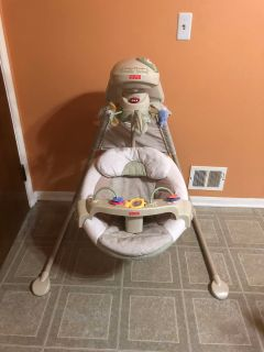 Fisher Price Nature touche cradle baby swing