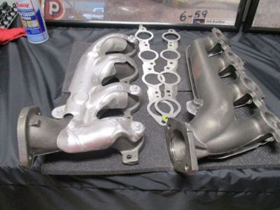 Purchase new factory manifolds from GM crate LS3 engine brand new all bolts gaskets motorcycle in Guntersville, Alabama, United States