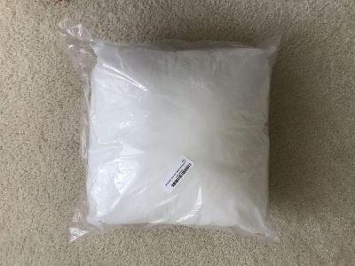 16x16 pillow form (unopened)