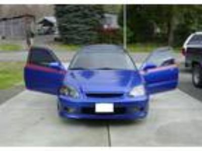 2000 Honda Civic Si Manual