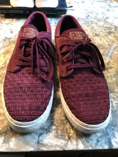 Men's Nike suede shoes