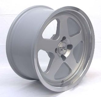 Buy Silver Saleen SC Mustang Style Wheels 4 lug 1987-1993 17x9, 17 Inch Rims motorcycle in Katy, Texas, US, for US $419.00