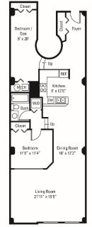 $4260 1 apartment in Cuyahoga County