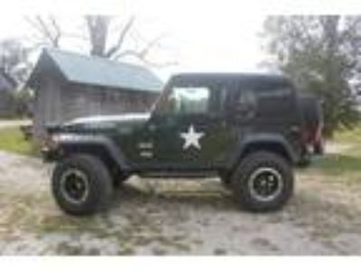2005 Jeep Wrangler Rubicon Willys Edition