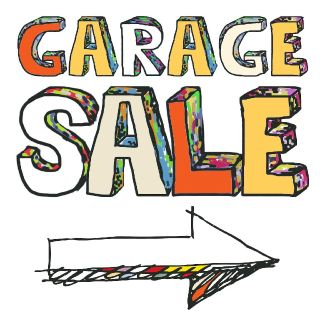 RAIN OR SHINE~HUGE Annual WHOLE NEIGHBOHOOD Garage Sale! Sponsored by Realtor April Maynard
