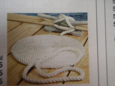 Sell DOCK LINE 1/2X25FT NYLON WHITE 3-STRAND 4257100 BOAT motorcycle in Osprey, Florida, US, for US $10.95