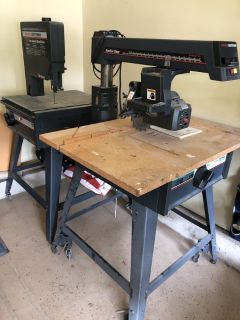 Band saw/radial saw craftsman set