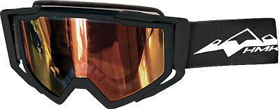Buy HMK Carbon Snowmobile Goggles Black motorcycle in Lee's Summit, Missouri, United States, for US $89.95