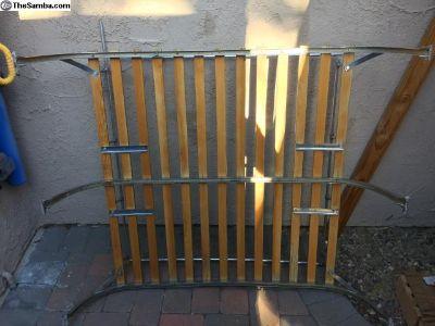 Westfalia chrome roof rack, repro.