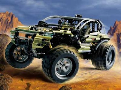 Lego 8466 4x4 Off-Roader