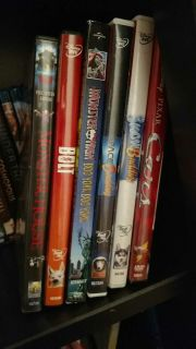 Kids movies for .75 cents each!