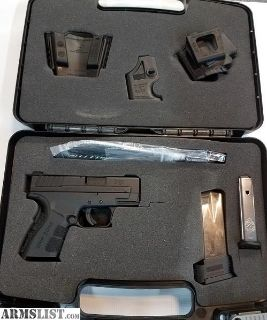 For Sale: Springfield XD mod2 9mm $425