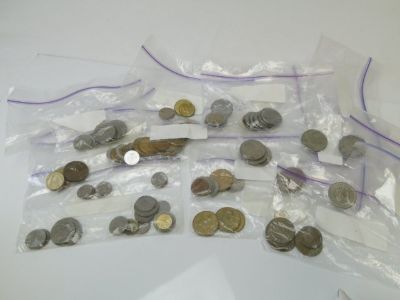 Assortment of World Coins