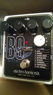 B9 organ machine with power source