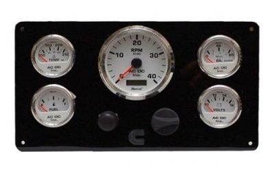 Find Cummins Diesel Engine Panel w/ wiring harness, Instrument Panel w/ 5 Gauges motorcycle in Torrance, California, United States, for US $509.99