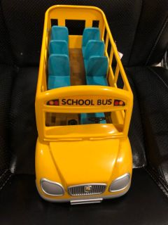 Calico Critters school bus
