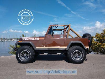1987 Jeep Wrangler Sport (Brown)
