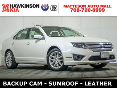 2012 Ford Fusion SEL (White Suede)