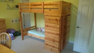 Twin over Toddler Bunk Bed