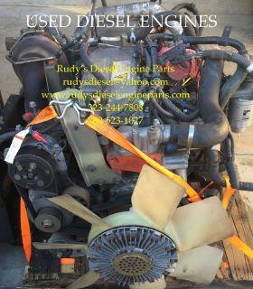 Find Good running Isuzu 6HK1X 7.8 diesel engine, fits Isuzu F-series & GMC T-series motorcycle in Adelanto, California, United States, for US $6,000.00