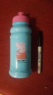 NWT PePa Pig drinking pull top bottle