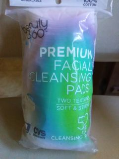 Beauty 360 facial cleansing wipes 50 ct.