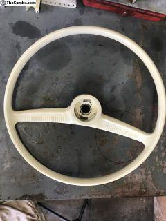 Semi Batwing Steering Wheel
