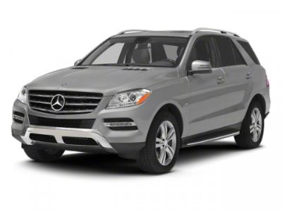 2012 Mercedes-Benz M-Class ML350 BlueTEC (White)
