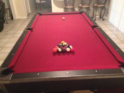 $2,100, New 4x8 Pool Table