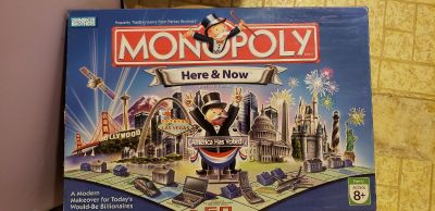 Monopoly - Here and Now version.