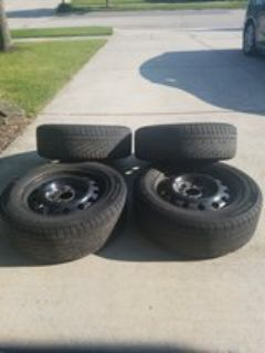 205/60 R16 Tires and steel rims