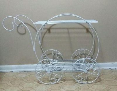 WROUGHT IRON PLANT STAND.....EXCELLENT CONDITION