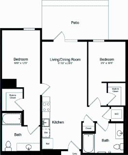 2 bedroom in Potrero Hill