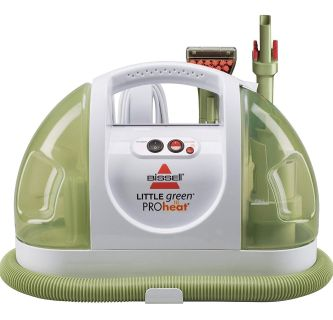 LIKE NEW! Bissell Little Green ProHeat Compact Multi-Purpose Carpet Cleaner