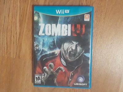 Wii U ZombiW game. Like new! Cross posted.