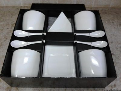 12 PIECE CAFE' COFFEE BEVERAGE SET