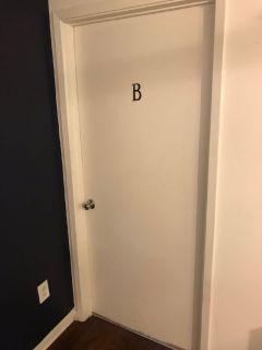 Room for sublease 1 bedroom in 2 bedrooms-1 bath apartment