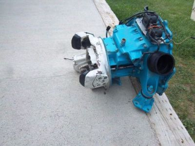 Buy OMC Stringer Ford V8 Intermediate Housing Complete Good Tilt Video Running motorcycle in Montrose, Colorado, United States, for US $325.00