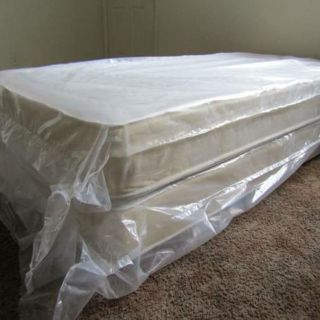 """""""Quality Sleep Is Essential To Life"""" - Twin Mattress With Box Spring *Low-Cost Delivery, All Sizes"""