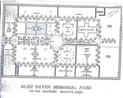 2 burial plots in Glen Haven Memorial Park, Glen Burnie, Maryland