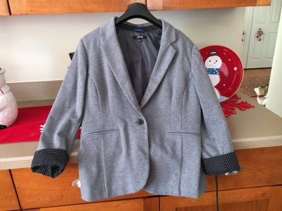 Large Gray Blazer