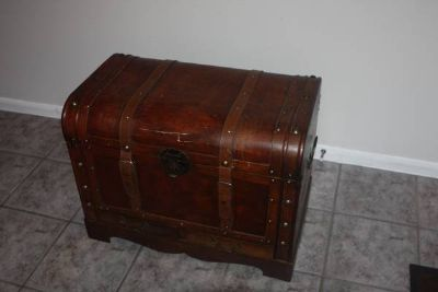 Treasure / Storage Chest with Two Drawers