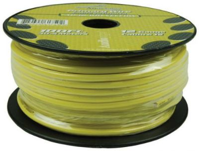 Buy 12 Gauge 100ft Primary Wire Yellow Audiopipe Ap12100yw Wire motorcycle in Hicksville, Ohio, United States, for US $20.05