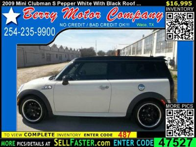 2009 Mini Clubman S Pepper White With Black Roof   Loaded Navigation