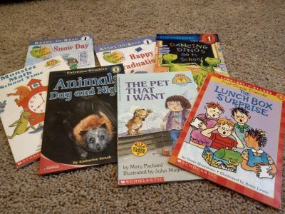 Big Lot of level 1 reading books 15 total!