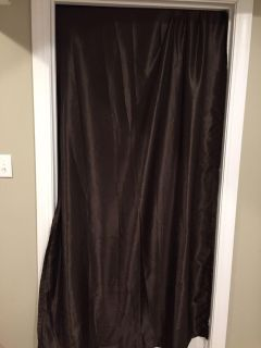 Better Homes & Gardens Brown Curtains- Set of 2